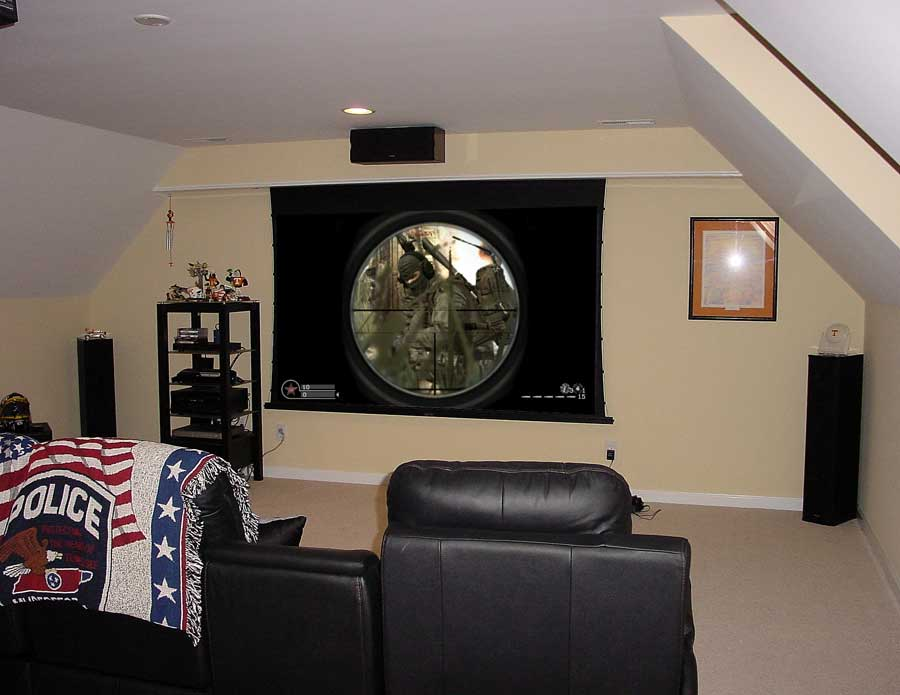 Custom Home Theater System TV Installation Murfreesboro Tennessee