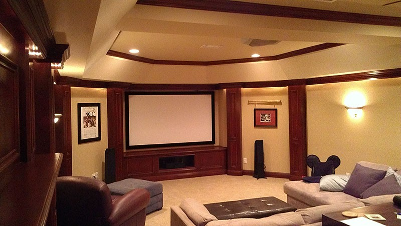 Attractive Home Theater Design And Setup   Spring Hill, TN