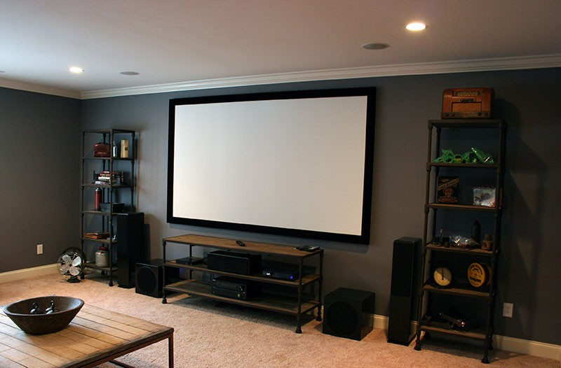 Beautiful home theater system design gallery interior design ideas - Home audio system design ...