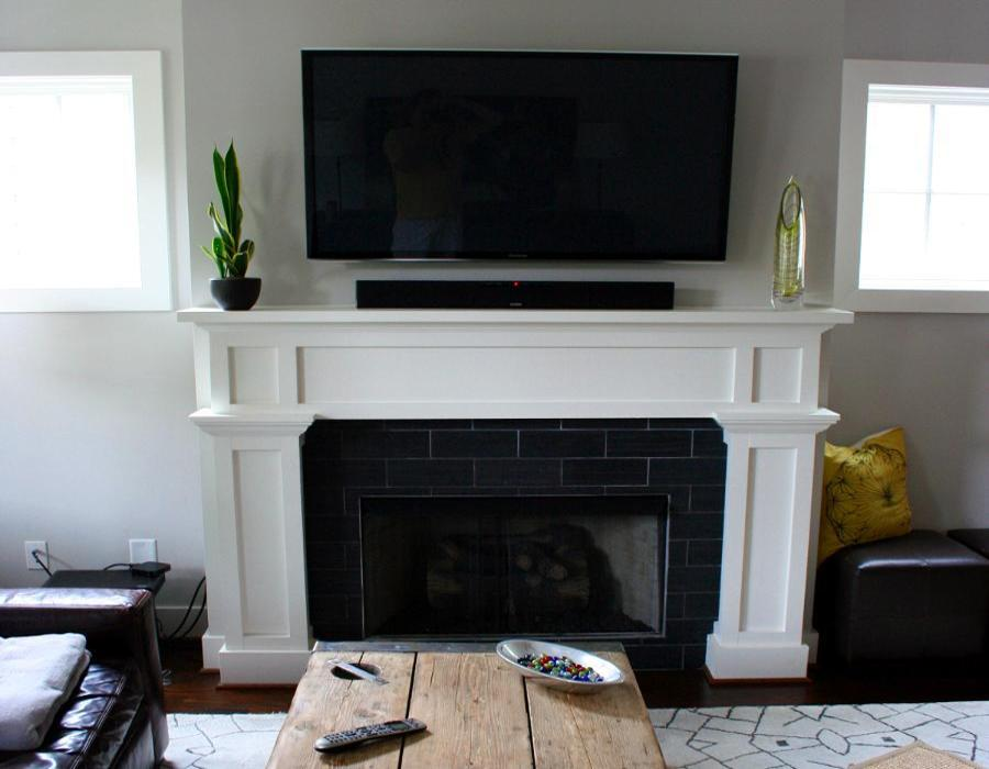 Voted 1 On Wall And Above Fireplace Tv Mounting