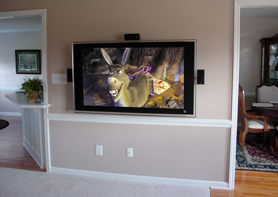 Custom Home Theater System TV Installation Franklin Tennessee